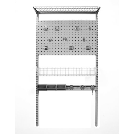 View a Larger Image of LocBoard Wall Mount Storage Unit 33""
