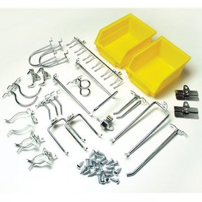 LOCKING PEGBOARD HOOK KIT