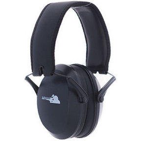 Low Impact Hearing Protection Black Ear Muffs