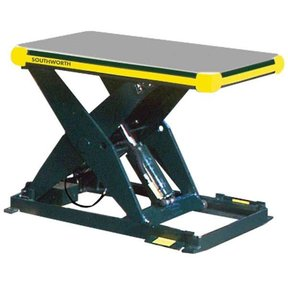 "LS Series Backsaver Lift with 96"" x 48"" Platform, Model LS2.5-36"