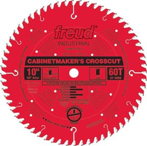 "LU73R010 Cabinetmaker's Crosscut Saw Blade 10"" x 5/8"" bore x 60 Tooth Hi-ATB"