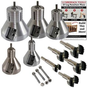 Industrial Series Professional Kit for Tenon Cutting