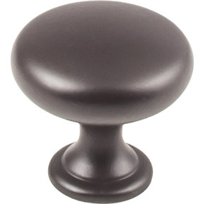 "Madison Knob, 1-3/16"" Dia.,  Dark Bronze"