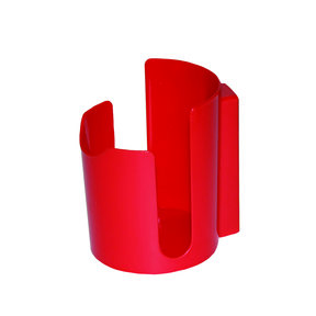 Magnetic Cup Holder, Red