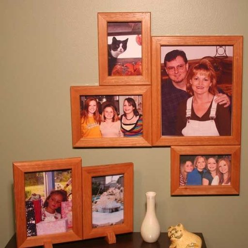 View a Larger Image of Magnetic Picture Frames - Downloadable Plan