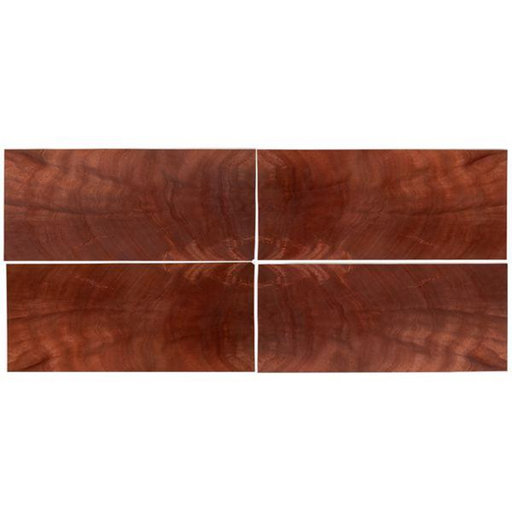 "View a Larger Image of Mahogany Crotch Veneer 8"" x 18"" 4-piece"