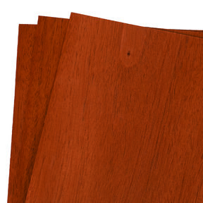 "Mahogany 12"" x 12"" 3 pc Pack Wood Veneer"