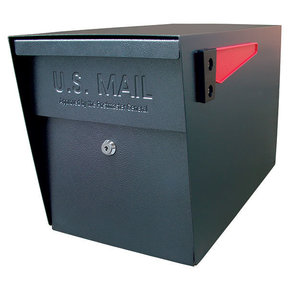 Locking Security Mailbox, Black
