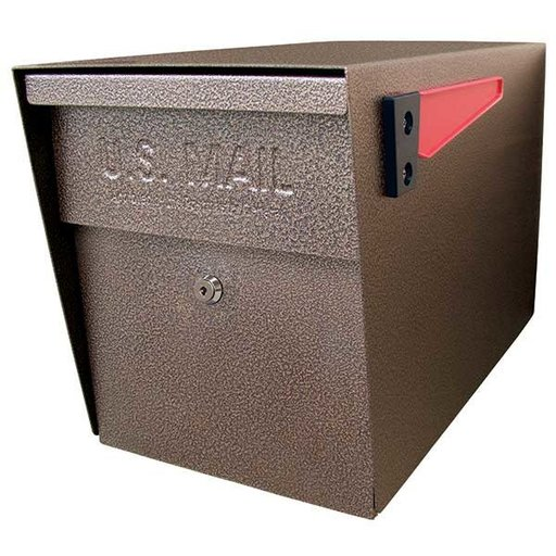 View a Larger Image of Locking Security Mailbox, Bronze Copper