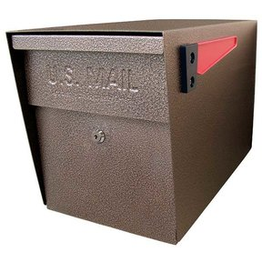 Locking Security Mailbox, Bronze Copper