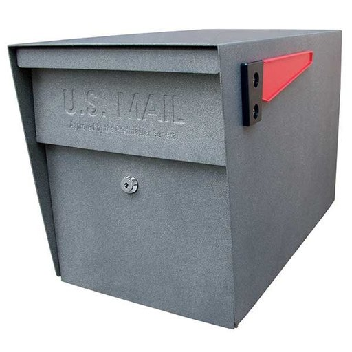 View a Larger Image of Locking Security Mailbox, Granite