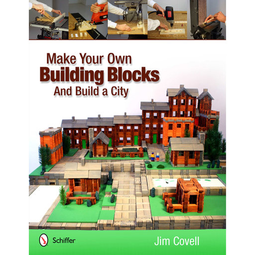 View a Larger Image of Make Your Own Building Blocks and Build A City