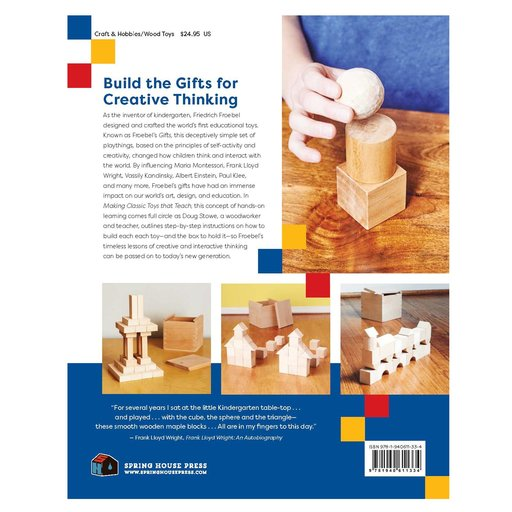 View a Larger Image of Making Classic Toys That Teach