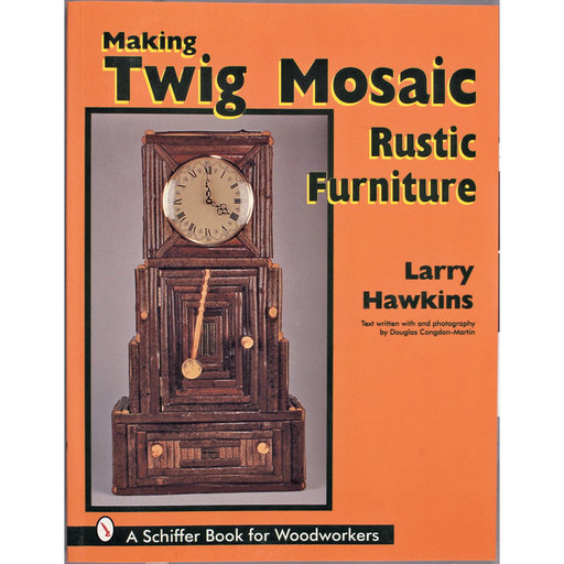View a Larger Image of Making Twig Mosaic Rustic Furniture