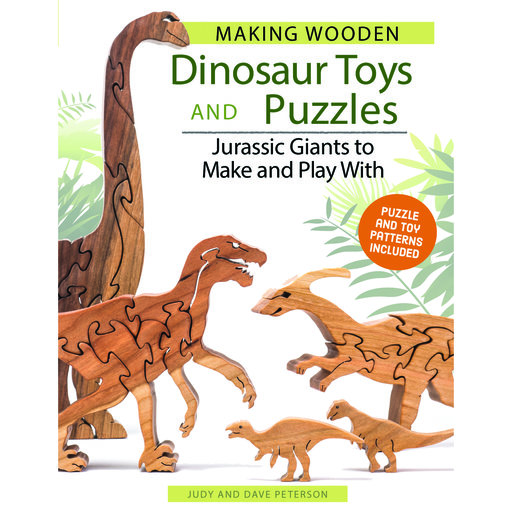 View a Larger Image of Making Wooden Dinosaur Toys and Puzzles