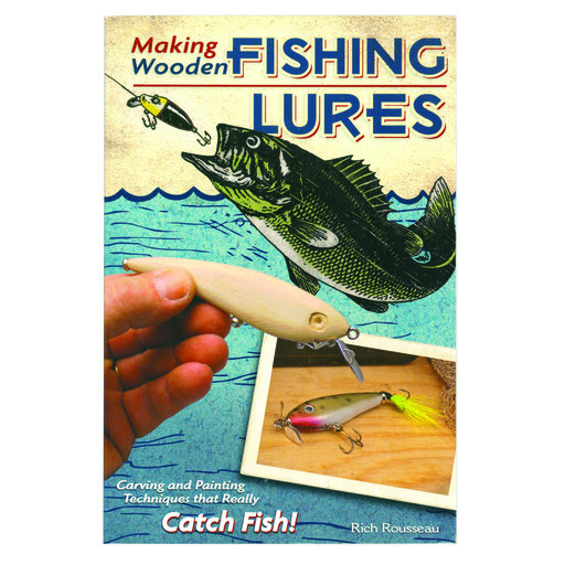 View a Larger Image of Making Wooden Fishing Lures