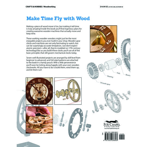View a Larger Image of Making Wooden Gear Clocks