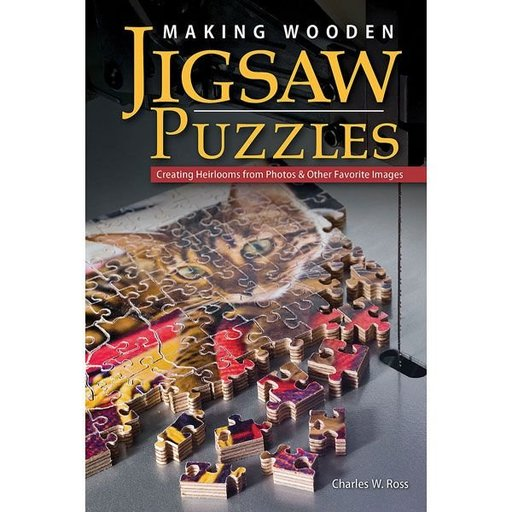 View a Larger Image of Making Wooden Jigsaw Puzzles