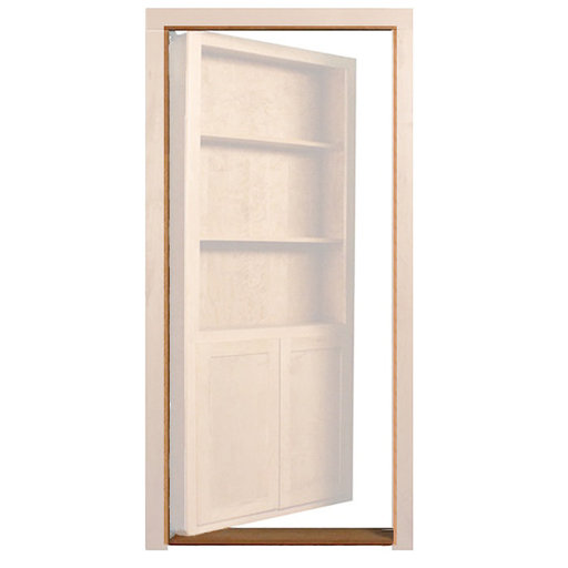View a Larger Image of Maple Outswing Jam/Threshold Accessory for 32 in. or 36 in. InvisiDoor Bookcase Door