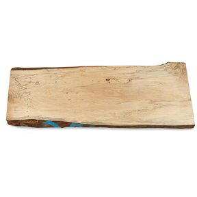 "Maple, Spalted Slab 50-1/2"" x 19"" x 1-1/2"""