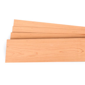 "Maple 1/16"" Thick 4-1/2"" to 7-1/2"" Width 3 sq ft Pack Wood Veneer"