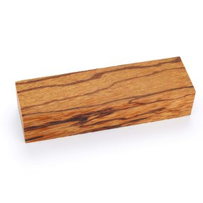 "Marblewood 1"" x 1-1/2"" x 5"" Knife Scale 1-piece"