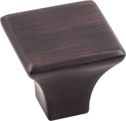 "View a Larger Image of Marlo Knob, 1-1/8"" O.L.,  Brushed Oil Rubbed Bronze"
