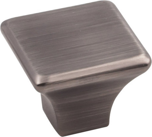 "View a Larger Image of Marlo Large Knob, 1-1/4"" O.L.,  Brushed Pewter"