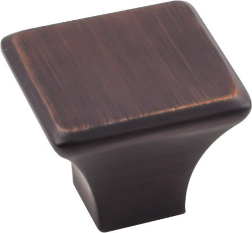 "View a Larger Image of Marlo Large Knob, 1-1/4"" O.L.,  Brushed Oil Rubbed Bronze"
