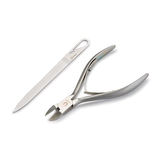 View a Larger Image of Maruto Nail Nippers with Nail File Heavy Duty Model NP-2010