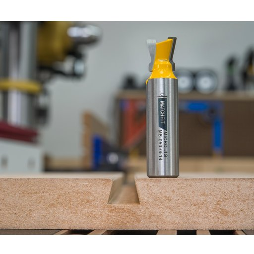 """View a Larger Image of MATCHFIT 1/2"""" Dovetail Router Bit"""