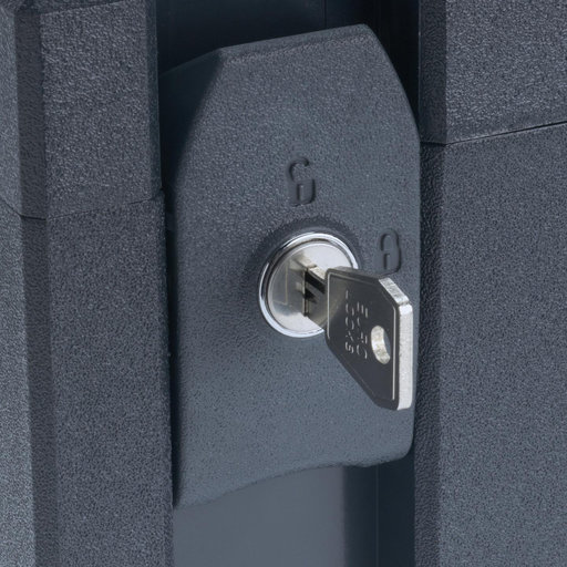View a Larger Image of MAXI II,III Safety-Set Locks Anthracite