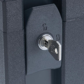 MAXI II,III Safety-Set Locks Anthracite