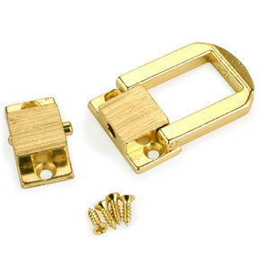 "Medium Box Catch Brass 1"" x 1-1/4"" 1-piece"