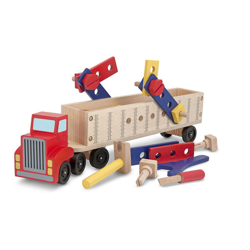 View a Larger Image of Melissa & Doug Big Rig Building Set