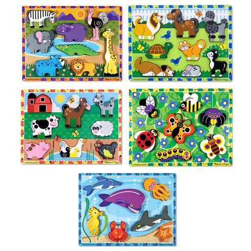 View a Larger Image of Chunky Puzzle Bundle #1