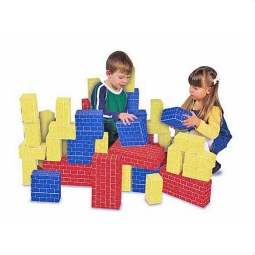 View a Larger Image of Melissa & Doug Deluxe Jumbo Cardboard Blocks, 40-Piece