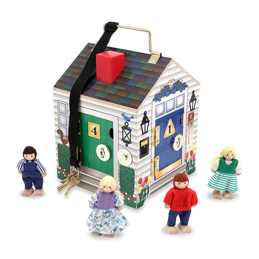 View a Larger Image of Melissa & Doug Doorbell House