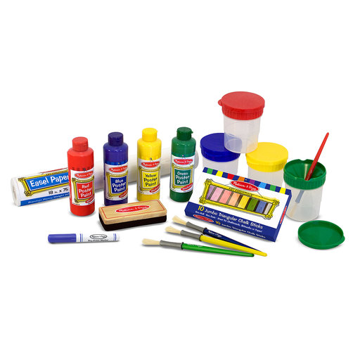 View a Larger Image of Melissa & Doug Easel Accessory Set, 29-Piece