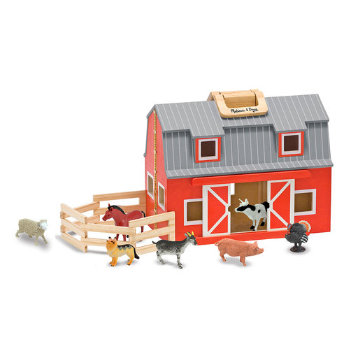 View a Larger Image of Melissa & Doug Fold & Go Barn