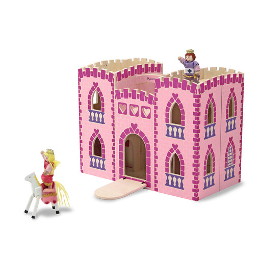 View a Larger Image of Melissa & Doug Fold & Go Princess Castle