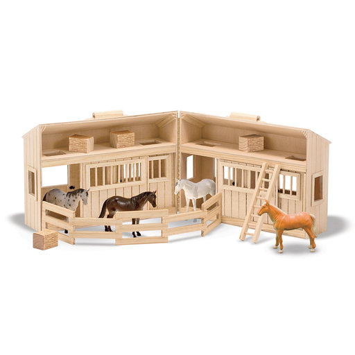 View a Larger Image of Melissa & Doug Fold & Go Stable