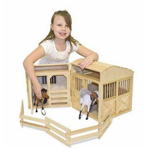 View a Larger Image of Folding Horse Stable