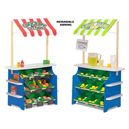 View a Larger Image of Melissa & Doug Grocery Store / Lemonade Stand