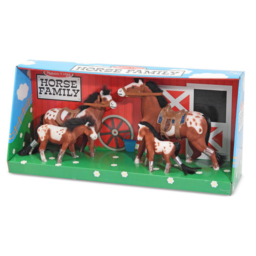 View a Larger Image of Melissa & Doug Horse Family