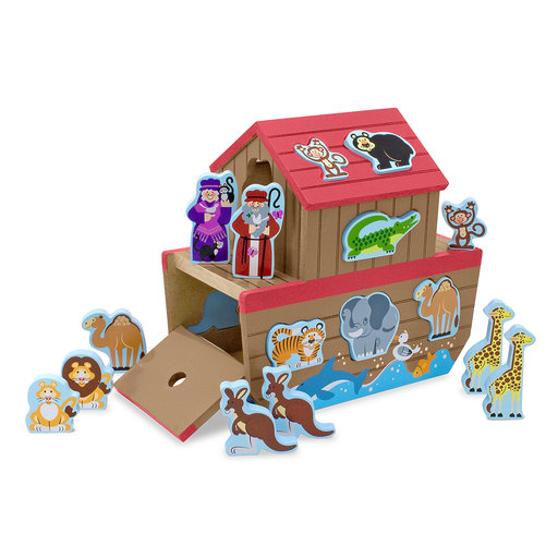 View a Larger Image of Melissa & Doug Noah's Ark Shape Sorter