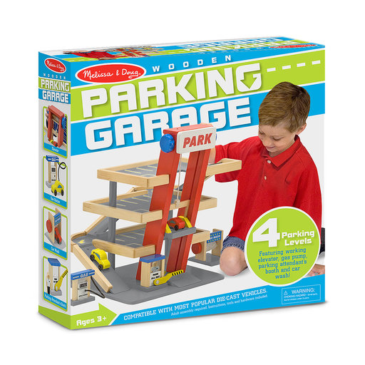 View a Larger Image of Melissa & Doug Parking Garage