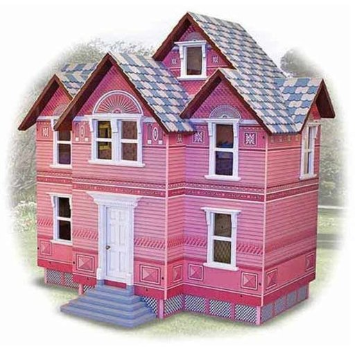 View a Larger Image of Melissa & Doug Victorian Dollhouse
