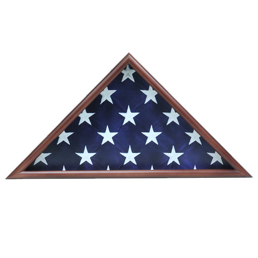 View a Larger Image of Memorial Flag Case, Walnut