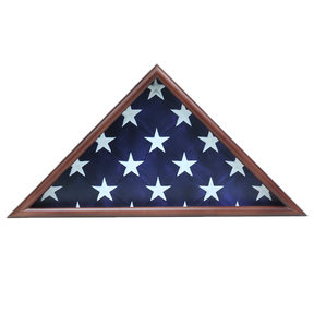 Memorial Flag Case, Walnut